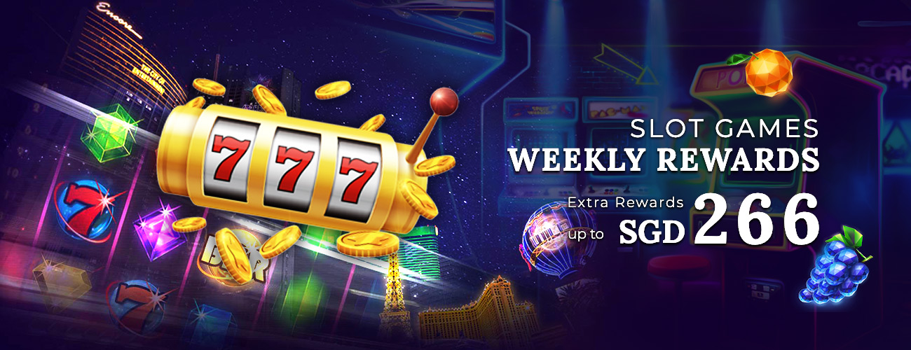 Slot Games Weekly Rewards