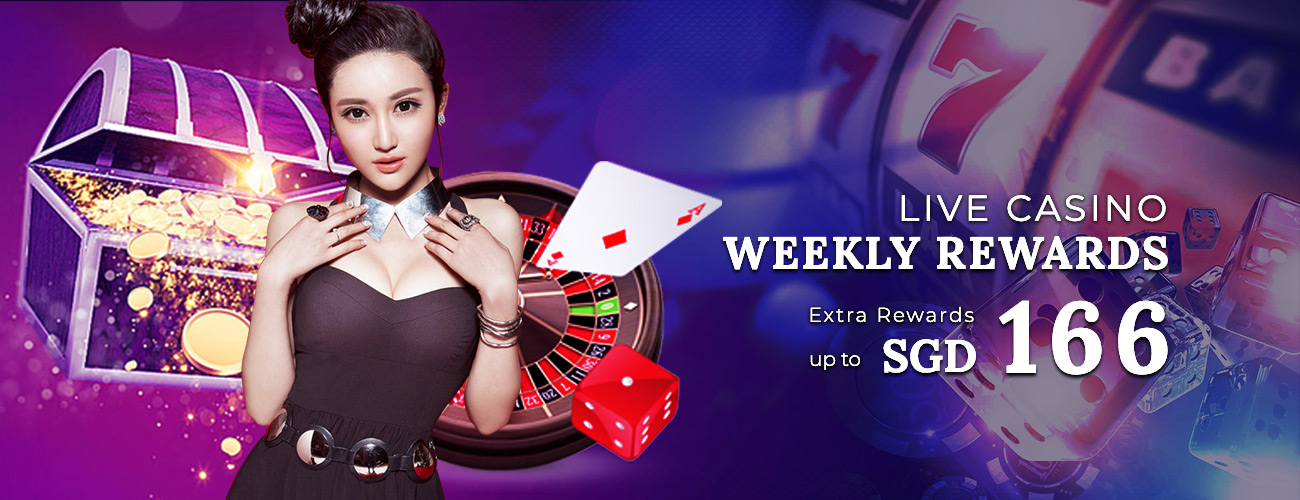 Live Casino Weekly Rewards